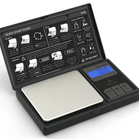Myco Digital Mini Scale Range Including the MX Series.