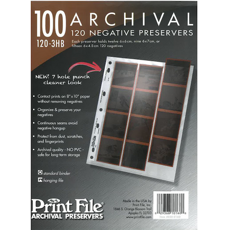 Print File, manufacturer for over 50 years, of high quality archival storage and presentation products for negatives, slides, transparencies, photographs, memorabilia and CDs/DVDs. The clear choice for photographers, education & museums.