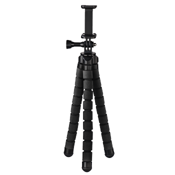 "Hama ""Flex"" Tripod for Smartphone and GoPro, 26 cm,"