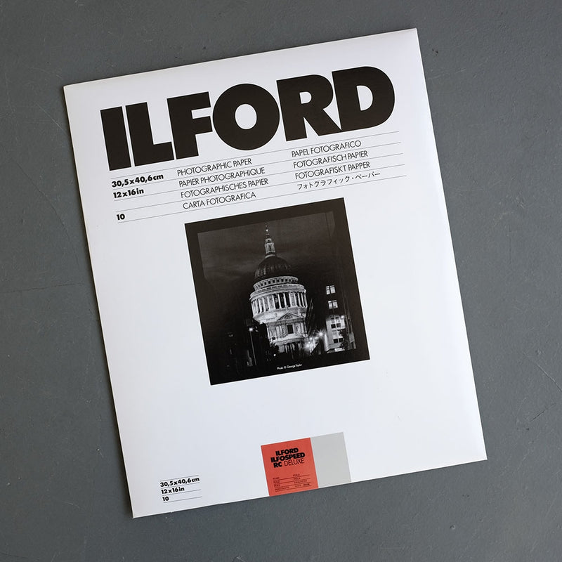 Ilford Ilfospeed RC Paper Gloss Grade 2