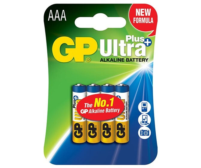 GP Alkaline Batteries x6AAA/LR03/AM4/MN2400