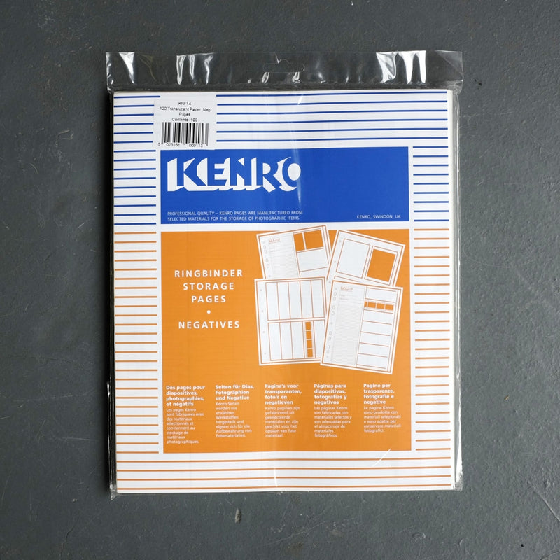 Kenro 120 Translucent Negative Pages