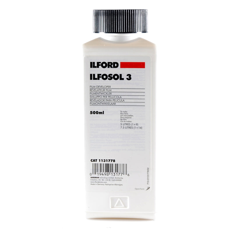 Ilford Ilfosol 3 Film Developer 500ml