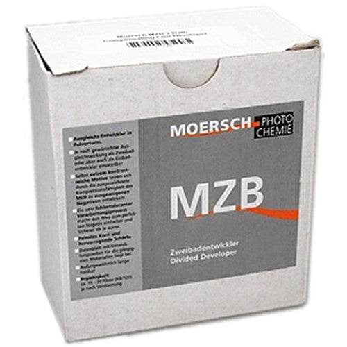 Moersch MZB Divided Developer Powder To Make 2x 2L