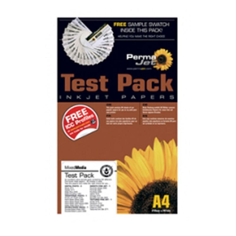 Permajet PermaJet CanvasTest Pack A3+ 12 Sheets