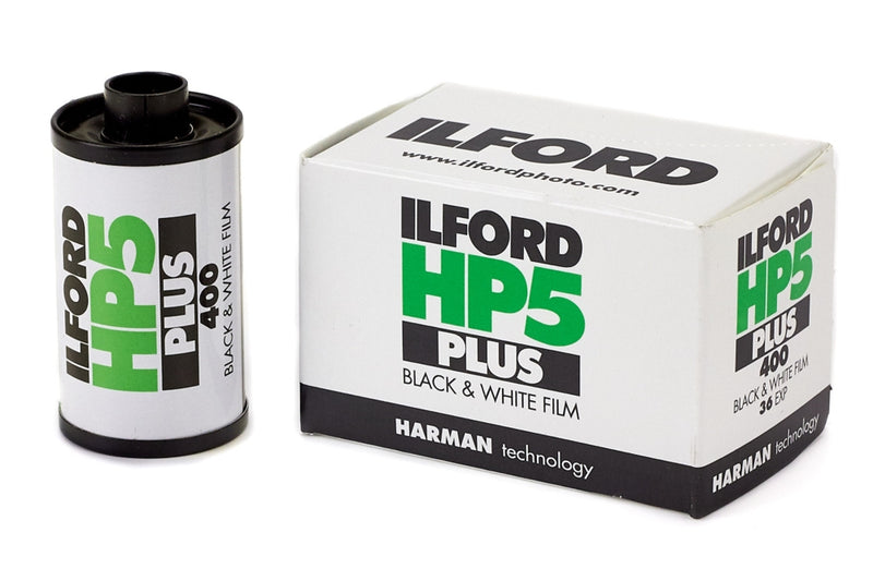 ILFORD HP5 PLUS is a high speed, fine grain, medium contrast black & white film making it an excellent choice for journalism, documentary, travel, sports, action and indoor available light photography.