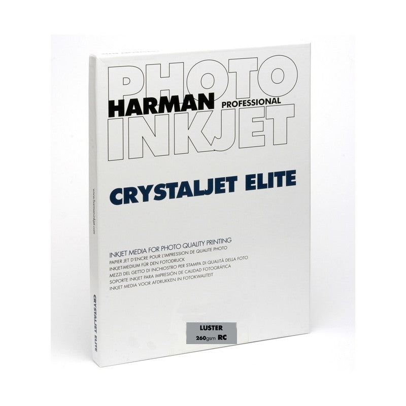 Harman Crystaljet Elite Lustre260gsm A2 25 Sheets