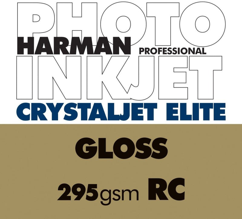 Harman Crystaljet Elite Gloss295gsm A4 100 Sheets