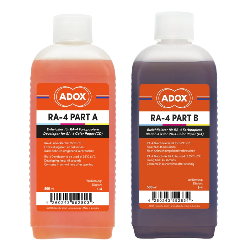 Adox RA-4 Kit For 2500 ml CD And BX