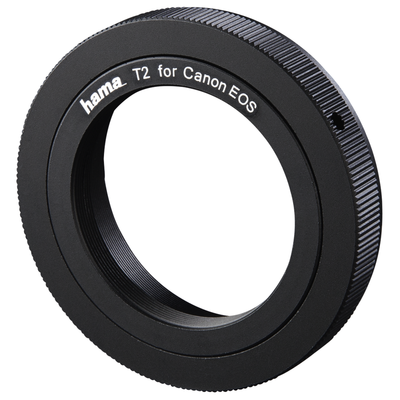 Hama Lens Adapter for Cameras with T2 Connection and Canon EOS Lenses