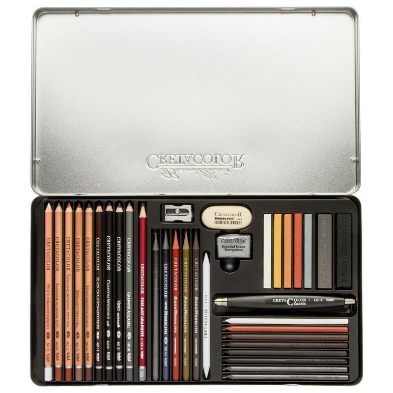 Cretacolor Ultimo Drawing Set of 35