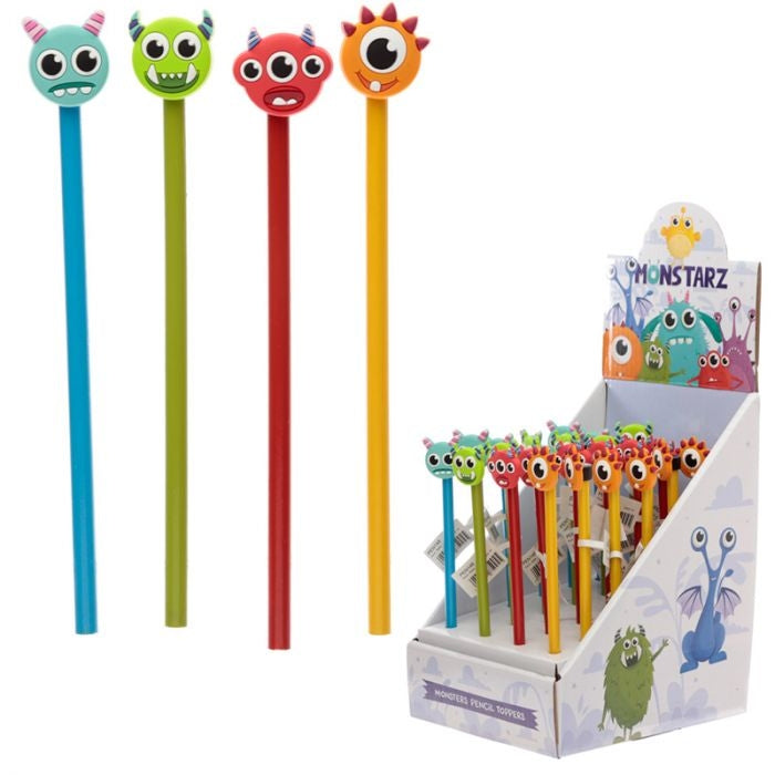 Monstarz Monster Pencilwith PVC Topper
