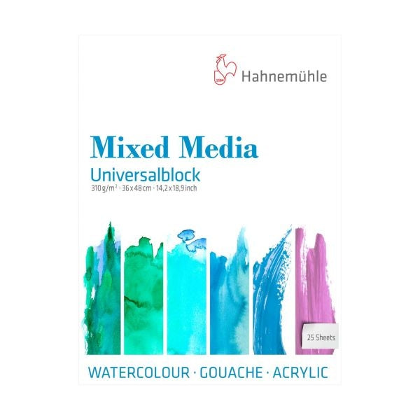 Hahnemuhle Universal Mixed Media Block 25 Sheets