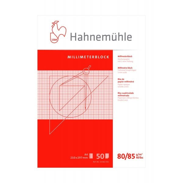 Hahnemuhle Graph Paper Pad 50 Sheets