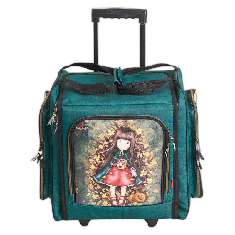 Doccraft Wheelable Craft ToteSantoro Autumn Leaves
