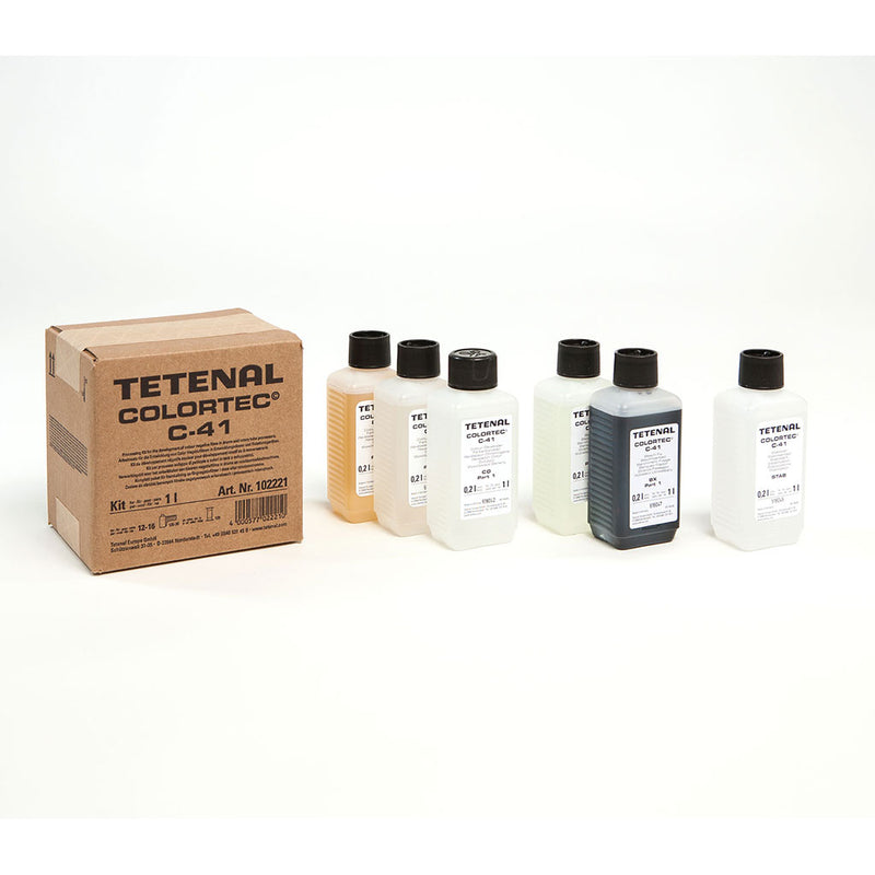 Tetenal Colortec C41 Negative Rapid Bath Kit1L