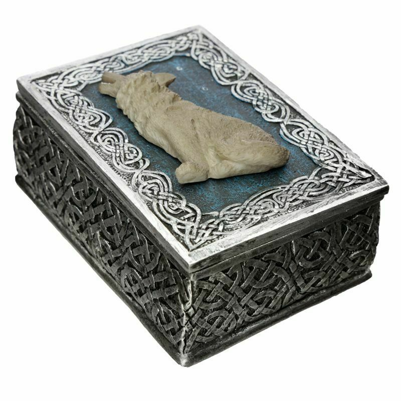 Protector of the North Secrets of the Wolf Trinket Box