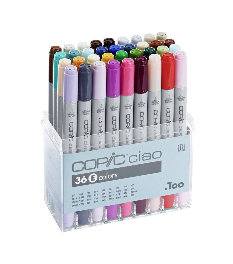 Copic Ciao 36 Piece Set A