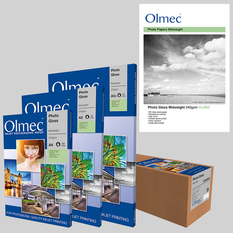 Olmec Photo Gloss Midweight 240gsm