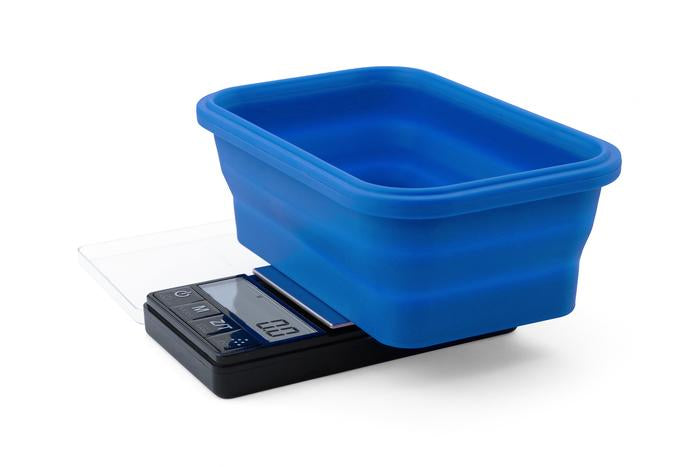 OnBalance Scale Collapsible Blue Bowl, Black