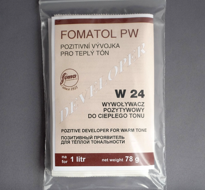 FOMA Fomatol PW W24 For 1000 ml Warmtone Paper Developer