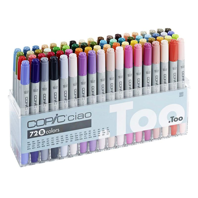 Copic Ciao 72 Piece