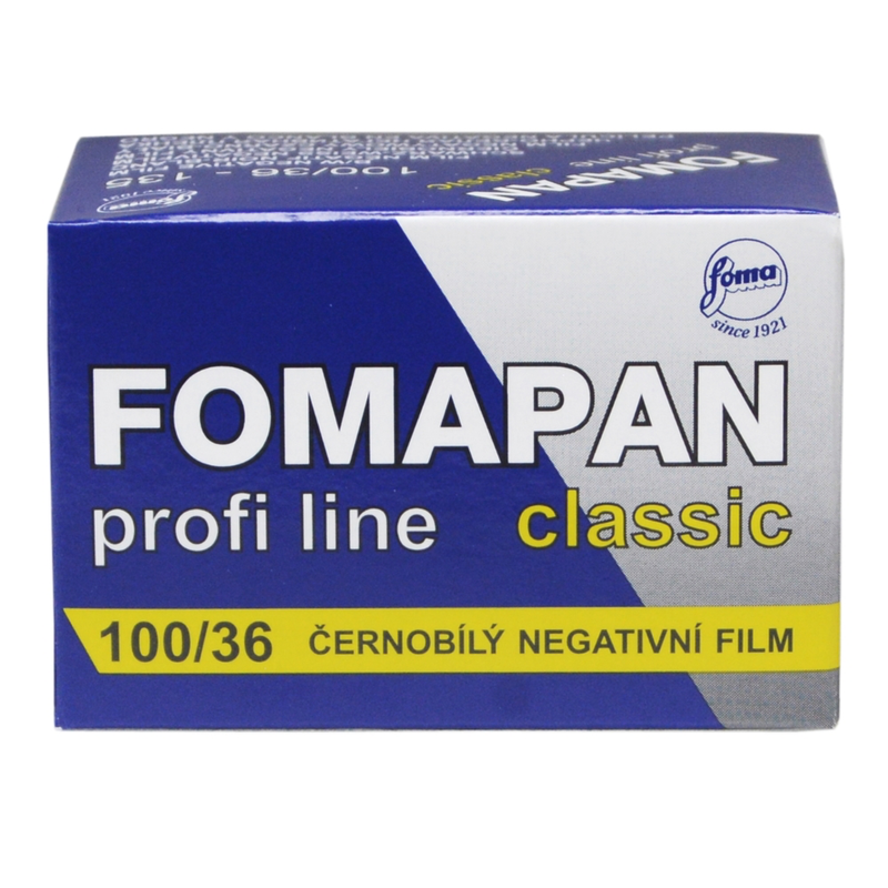 Foma film 100 36 Exposures