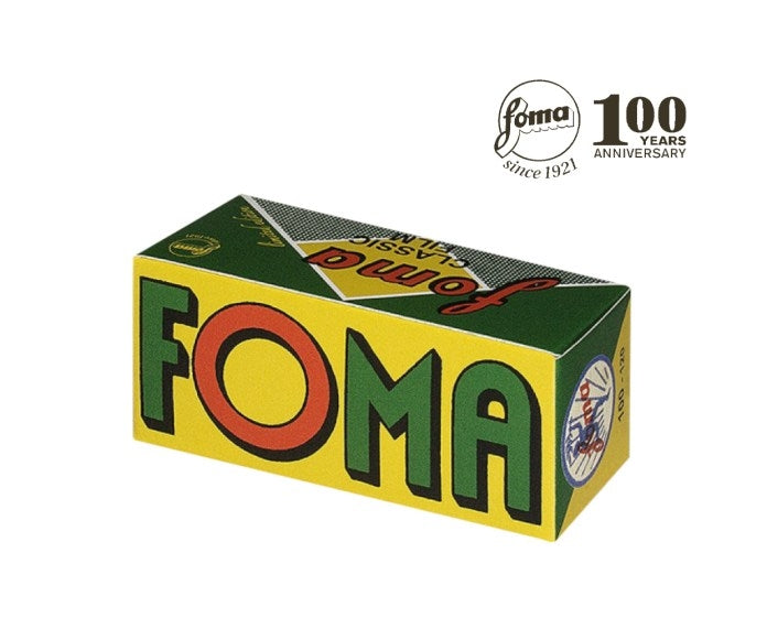 Foma film 100 120 retro