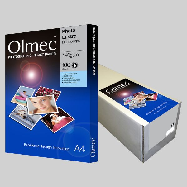 Olmec Photo Lustre Lightweight 190gsm