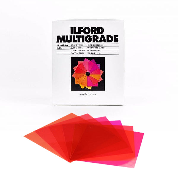Ilford Multigrade Filters Above Lens Kit 8.9x8.9cm 00-5
