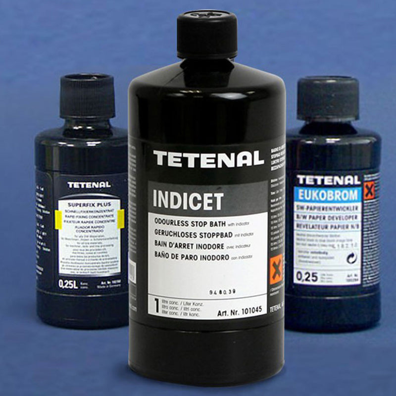The Tetenal Black and White Paper Chemistry Starter Pack