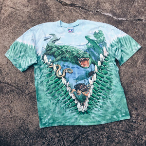 Original 1998 Liquid Blue Alligator Tee.