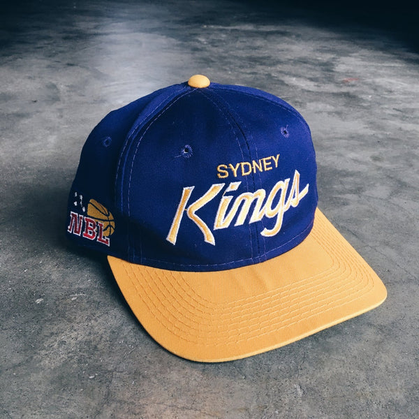 Original 90's Sports Specialties Sydney Kong's Snapback Hat.