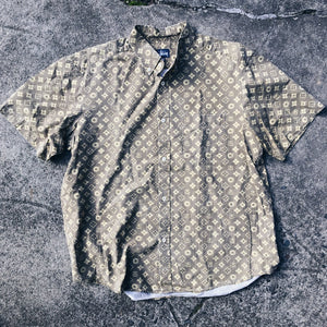 Original Early 2000's Stussy Monogram S/S Button-Up.