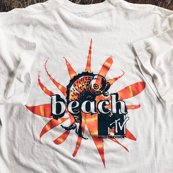 Original 90's MTV Beach Tee.