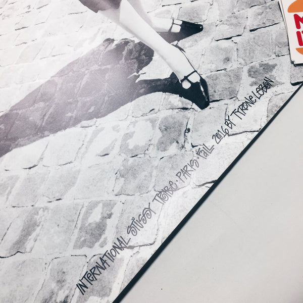 Original 2016 Promotional Stussy In-Store Display Poster.