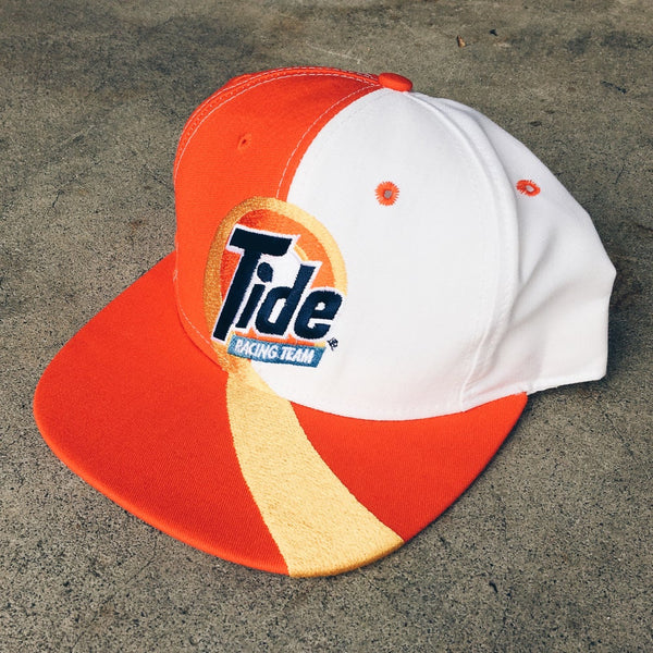 Original 90's Tide Racing Snapback Hat.