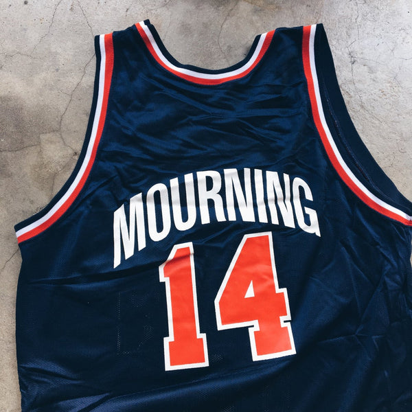 Original 1992 Dream Team Champion USA Alonzo Mourning Jersey.