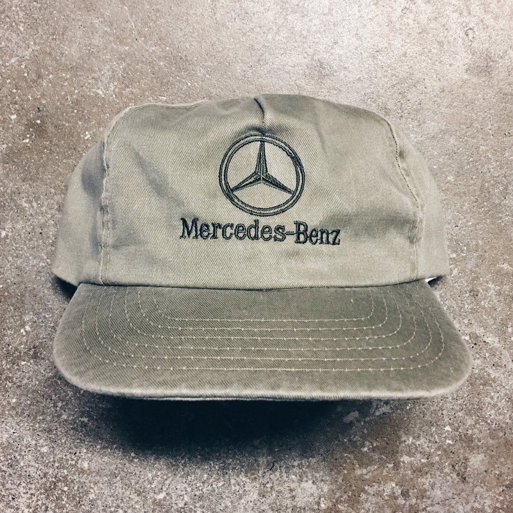 Original 90's Mercedes-Benz Strapback Hat.