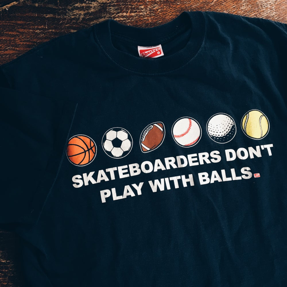 Vintage Shorty's Skateboards Sports Tee.