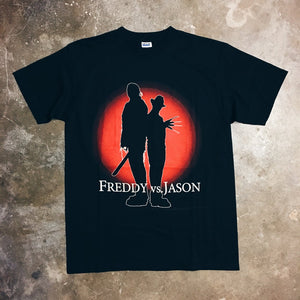 Original 2004 Freddy Vs. Jason Movie Promo Tee.