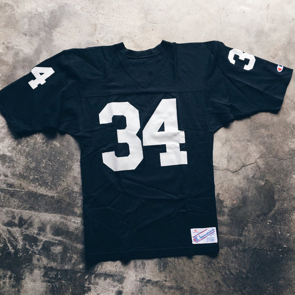 Original 80's Champion Bo Jackson Raiders Jersey.