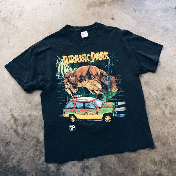 Original 1993 Made In USA Jurassic Park Tee.