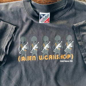 Original 2001 Alien Workshop Global Takeover Tee.