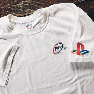Original Early 2000's Promo 989 Sports PS2 Tee.