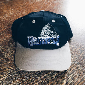 Original 1997 Mr. Freeze Batman Snapback Hat.