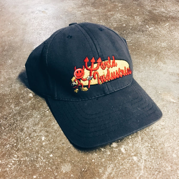 Original 90's World Industries FlexFit Men's Hat.