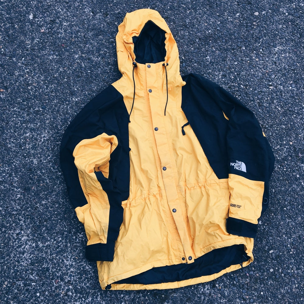 "Original 90's The North Face ""Bumble"" Mountain Light Jacket."