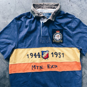 Original Vintage Polo Expedition Rugby Top.