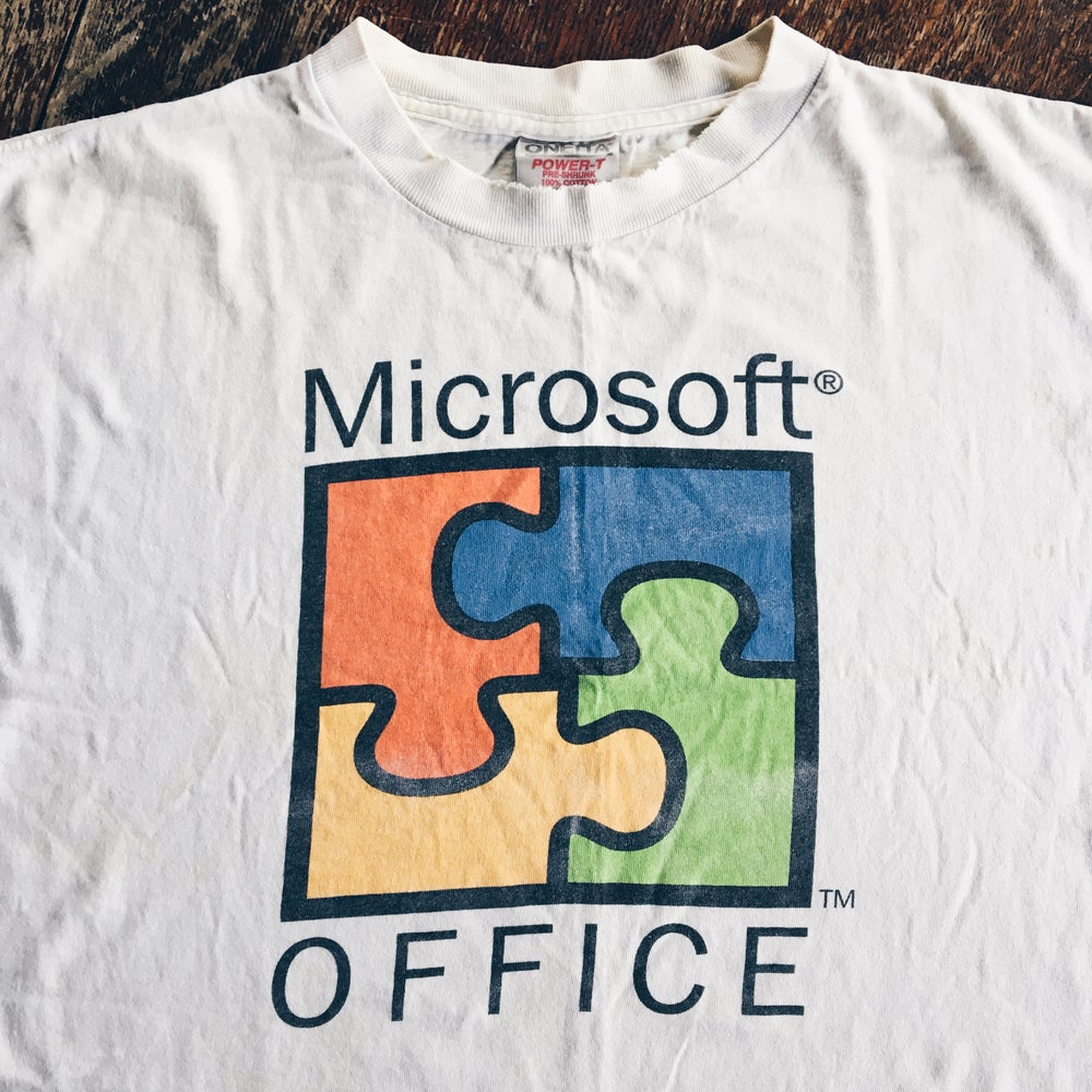 Original 1995 Microsoft Office 95' Tee.